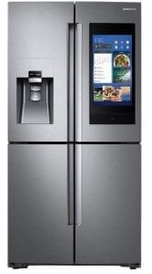 Samsung Fridge with Touch Screen Family Hub