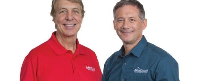 Tom DiGregorio and Joe Rusk AquaGuard Foundation Solutions