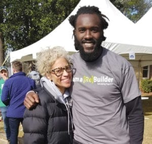 Laura Downey DeVondre Campbell Rebuilding Together