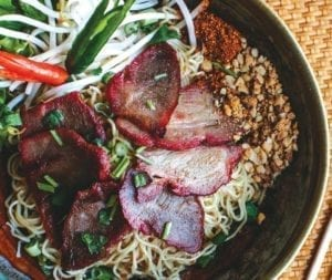 Thai Recipe - BBQ Pork Noodle