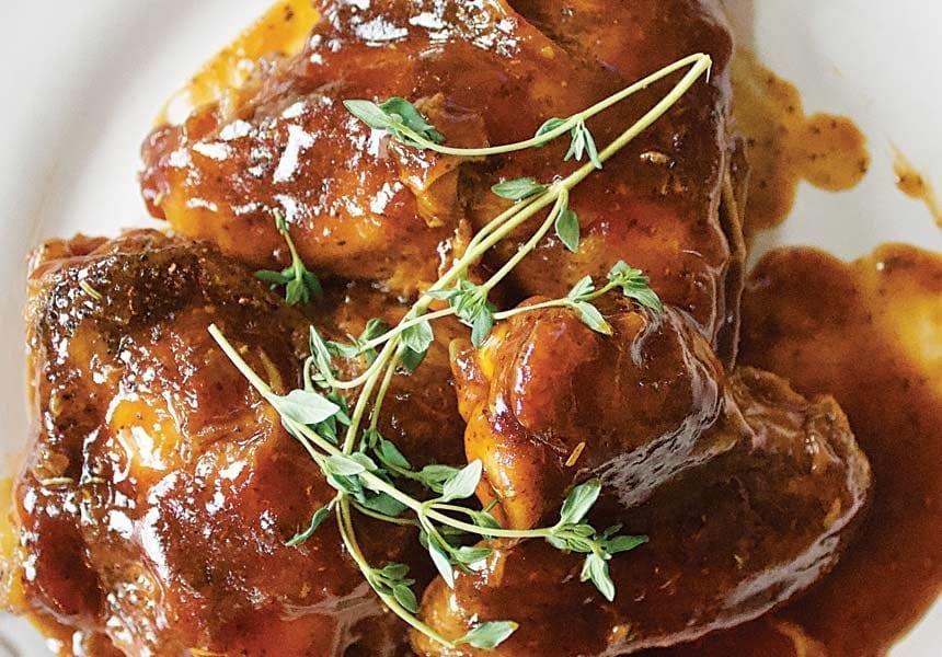 Recipe for Cajun Barbecue Rotisserie Chicken