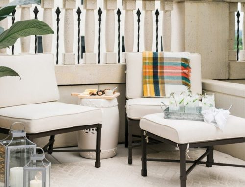 Petite Patio Solutions by Jana Bek and Ballard Designs