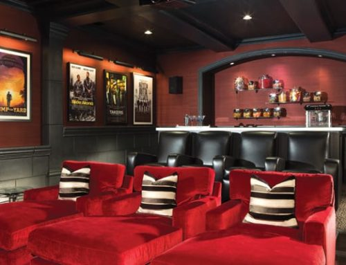 A Luxe Home Theater