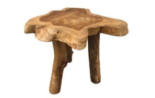 Handmade, wood abstract table