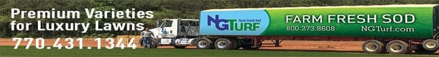 NG Turf truck delivering Sod