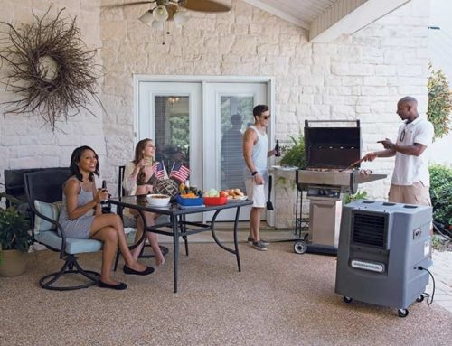 Stay Cool with Outdoor Air-Conditioning