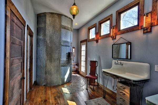 firehouse-transformed-into-a-house: MASTER-BATHROOM