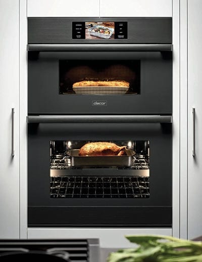 Black Dacor Combination Wall Oven