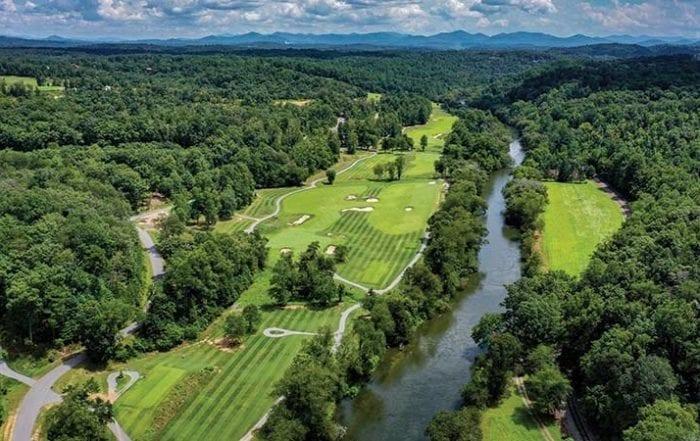 Old Toccoa Farm beautiful golf course