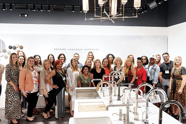 2019 Influencers Bus Tour of Kitchen & Bath Showrooms