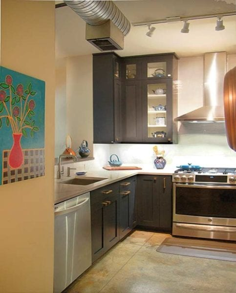 NKBA Designs of Distinction Award small kitchen winner