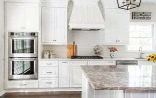 Kitchen remodel for better air quality