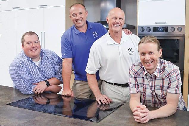 Joe LaBoon and his team at Georgia Kitchens