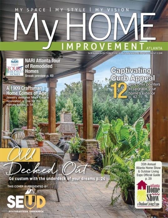 My Home Improvement September-October 2018 magazine cover