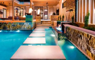 Luxury pool and spa design by Neptune Pools, Best Pool Design/Installation Company Winner